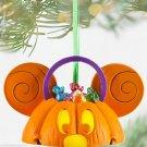 Disney Mickey Pumpkin Light Up Ear Hat Christmas Ornament Theme Parks