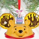 Disney Winnie the Pooh Ear Hat Christmas Ornament Theme Parks