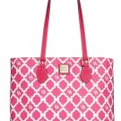Dooney & Bourke Richmond Sanibel Shopper Tote Handbag Purse Bag Pink