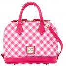 Dooney & Bourke Bitsy Handbag Purse Evening Bag Pink Gingham