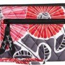 Vera Bradley Zip Around Wallet Wristlet Cheery Blossoms