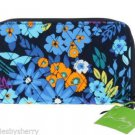 Vera Bradley Accordion Wallet Midnight Blues New