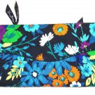 Vera Bradley Strap Wallet Midnight Blues Crossbody New