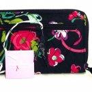 Vera Bradley Turnlock Wallet Ribbons