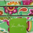 Vera Bradley Euro Wallet Tutti Frutti Printed Interior