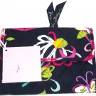 Vera Bradley Euro Wallet Ribbons Solid Interior