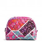 Vera Bradley Cosmetic Bag Modern Medley Printed Interior Medium