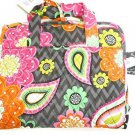Vera Bradley Hanging Organizer Jewelry Travel Cosmetic Case Ziggy Zinnia