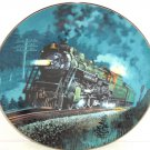 Train Plate Knowles Collector Crescent Romantic Age Steam Engines Retired 1993