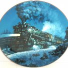 Train Plate Knowles Collector Empire Builder Romantic Age Steam Engines Retired