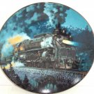 Train Plate Knowles Collector Overland Limited Romantic Age Steam Engines 1993