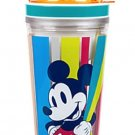 Disney Store Mickey Mouse Snack Drink Bottle Plastic Summer Fun New for 2016
