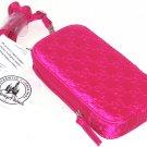 Disney Parks Minnie Mouse Smartphone Case Hot Pink Shoulder Strap New