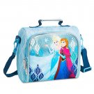 Disney Store Frozen Anna Elsa Blue Lunch Tote Box 2016