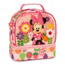Disney Store Minnie Mouse Pink Lunch Tote Box 2015