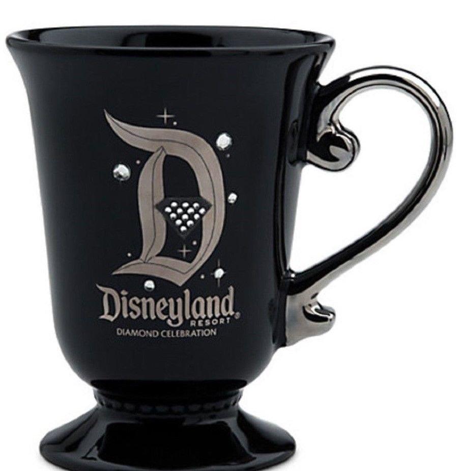 Disneyland Diamond Celebration Mug 60th Sleeping Beauty Castle 2016