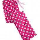 Disney Store Minnie Mouse Ladies Lounge Pants Sleepwear Size XS