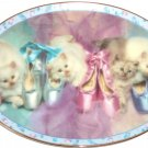 Prima Ballerinas Opening Night Collector Plate Kitten Cat Shoes Danbury Mint
