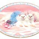 Prima Ballerinas Curtain Call Collector Plate Kitten Cat Shoes Danbury Mint
