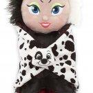 Disney Babies Cruella de Vil Plush and Blanket Theme Parks New
