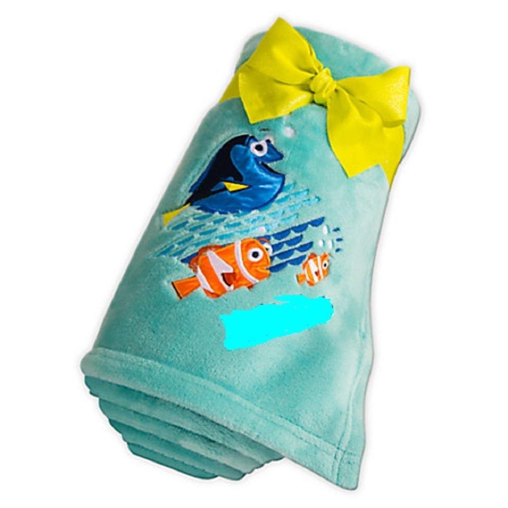 Disney Store Finding Dory Aqua Fleece Throw Blanket  2016