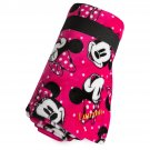Disney Store Minnie Mouse Pink Printed Fleece Throw Blanket  2017