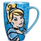 Disney Princess Cinderella Coffee Mug Cup Theme Parks Hard to Wake Up Midnight