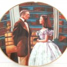 Gone with the Wind Collectors Plate Declaration of Love Bradford Exchange Vintag