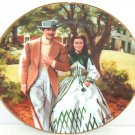 Gone with the Wind Collectors Plate Home to Tara Bradford Exchange Vintage