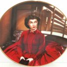 Gone with the Wind Collectors Plate Scarlet Gets Her Way Bradford Exchange