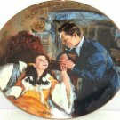 Gone with the Wind Collectors Plate Scarlet Rhett Honeymoon Bradford Exchange
