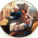 Gone with the Wind Collectors Plate The Buggy Ride Bradford Exchange Vintage