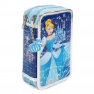 Disney Store Cinderella Zip Up Art Case Stationary Kit Missing the ERASER