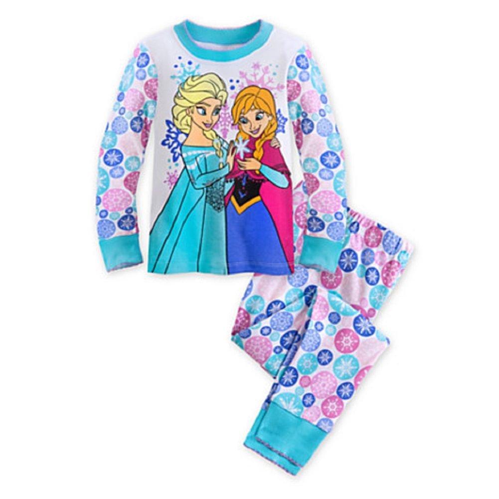 Disney Store Frozen Pj Pals Elsa Anna PJ's Size 6 sold AZ 11/02/19