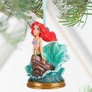 Disney Store Ariel Singing Sketchbook Christmas Ornament 2016