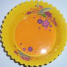 Disney Store Tinker Bell Cereal Bowl Yellow Mealtime Magic