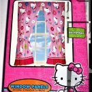 Hello KItty Curtains Window Treatments