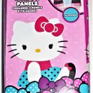 Hello KItty Curtains Window Treatments Dark Pink