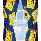 Spongebob Squarepants Curtains Window Treatments Dark Pink