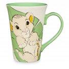 Disney Store Simba Character Coffee Mug 2017