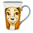 Disney Store Lady and the Tramp Character Coffee Mug 2017