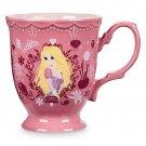 Disney Store Princess Rapunzel Flower Mug 2017