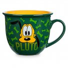 Disney Store Character Mug Pluto Green 2017