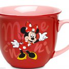 Disney Store Character Mug Minnie Mouse Red 2014