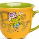 Disney Store Character Mug Dopey Gold 2014