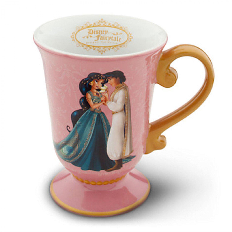 Disney Store Jasmine Aladdin Fairytale Desinger Coffee Cup Mug 2013