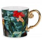 Disney Store Ariel Eric Fairytale Desinger Coffee Cup Mug 2017