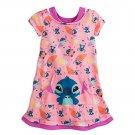 Disney Store Nightshirt Nightgown Girls Stitch Size 5/6