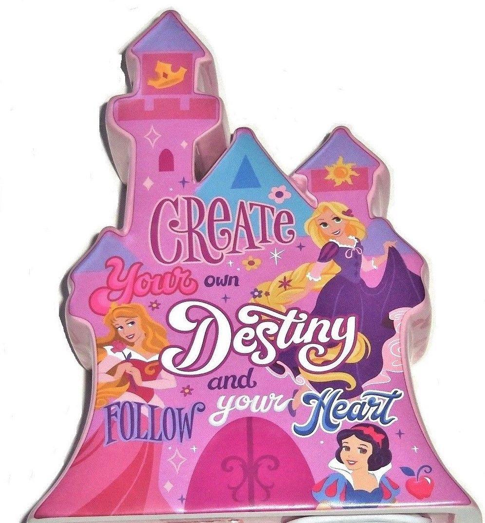 Disney Princess Castle Ceramic Bank Coin Money Theme Parks Ariel Belle Aurora New