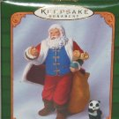 Hallmark Ornament Santa Claus Christmas Holiday 2001 Night Before Christmas